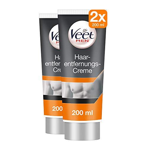 Veet for Men Enthaarungs-Gelcreme 2er Pack (2 x 200ml)