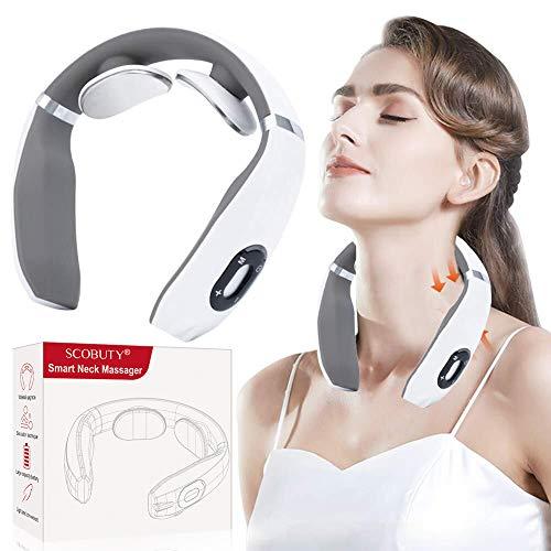 Nackenmassagegerät, Schulter Massagegerät, Elektrisch massagegeräte für Nacken, Geschwindigkeiten Muskel Schmerzlinderung, Nackenmassagegerät Entlasten Sie die Schulterentspannung
