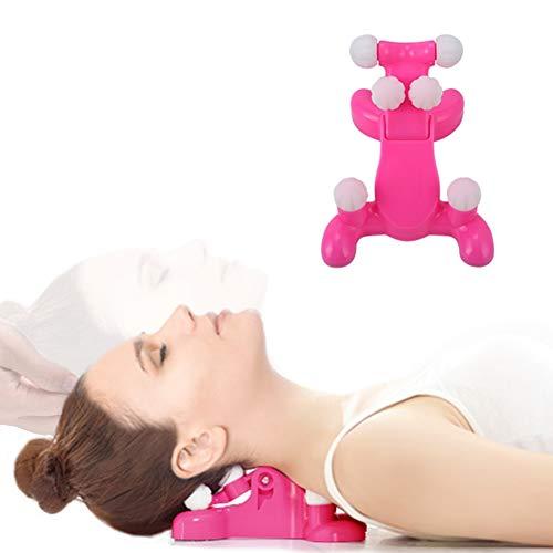 HZONE Nackenmassagegerät, Schulter Nackenmassagegerät mit Funktion zur entspannenden Nackenmassage und zur Linderung von Schulterschmerzen, Shiatsu Massagegerät Nacken Geeignet für Büro/Zuhause