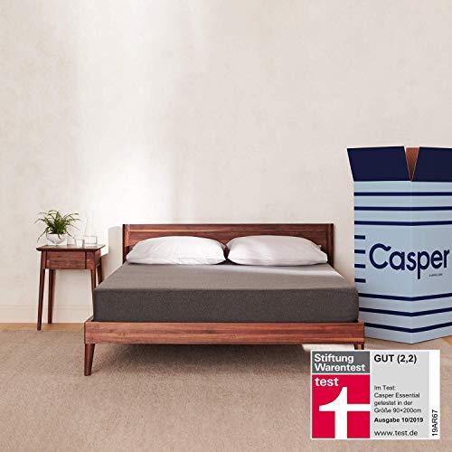 Die Casper Essential – 100 Nächte Probeliegen – Minimalistisches Design mit Maximaler Schlaffunktion 80 x 200