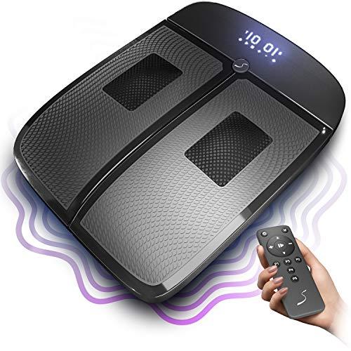 Sportstech VX350 2in1 Vibrationsplatte |Vibration und Massage im Edlen Design |3D Vibrationen stimulieren die Durchblutung der Beine | Schmerz lindern & Füße beleben Dank rotierende Massageköpfe