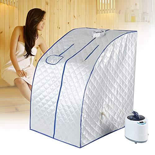 Saunas Steamer, Home Sauna Dampfsauna Dampfmaschine, Bad Box Topf Home Tragbare Anzug Spa sauna steamer maschine Steamer Sauna Zelt(weiß)