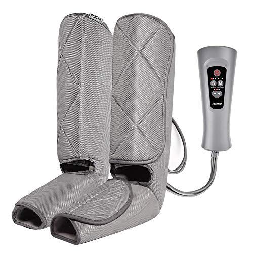 RENPHO Beine Massagegerät, Fußmassagegerät, Kompressionsmassage mit 4 Luftdruckintensitäten, 5 Massagemodi für Waden und Füße, Bein-Massage-Gerät für zuhause