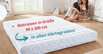 Matratzen in Größe 90x200 cm kaufen auf relax-experten.de