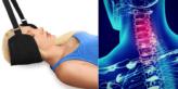 Nackenhängematte zu Linderung von Nackenschmerzen und Förderung der Durchblutung im Nackenbereich