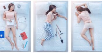 Unterschiedliche Schlafpositionen - Härtegrad bei allen Positionen wichtig