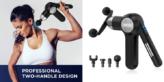 TONCUR Massagepistole - neues Modell von ABOX