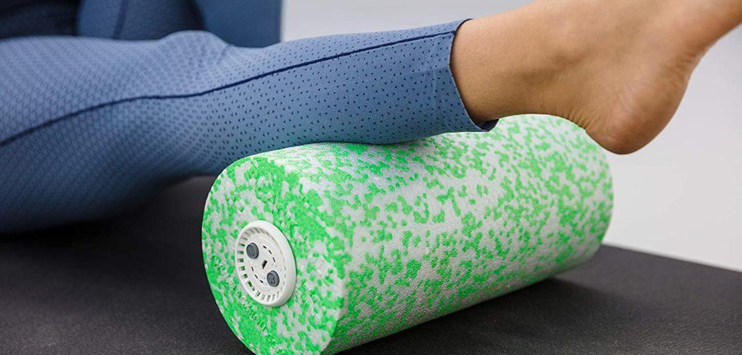 Faszien Massagegerät mit Vibrationsmassagefunktion