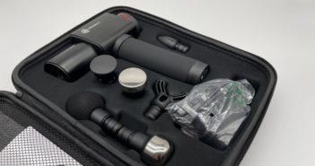 therabeat massagepistole koffer und inhalt